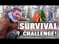 10 WOODS SURVIVAL CHALLENGE 24 Hours mp3
