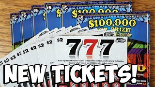 NEW TICKET WINS! $50 in 777 + 5X El Dinero! ✦ TEXAS LOTTERY Scratch Off Tickets