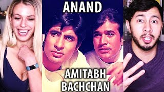 ANAND | Rajesh Khanna | Amitabh Bachchan |  Trailer Reaction w/ Kaitlyn!
