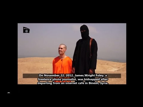 James Foley Beheaded by Isis and unrest in ferguson Dear Obama  your vacation is over !