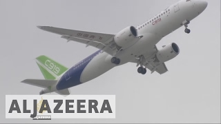 Comac C919: First medium-sized Chinese built airliner takes flight