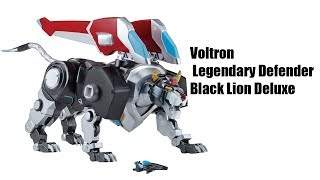 Voltron Legendary Defender Black Lion Deluxe