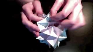 Spike Ball Origami Tutorial