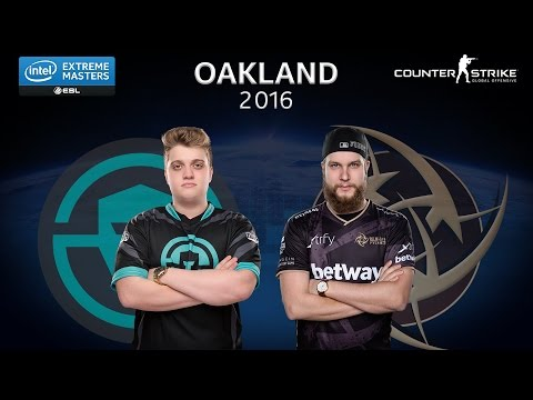 CS:GO - Immortals vs. NiP [Cbble] Map 2 - Ro6 - IEM Oakland 2016