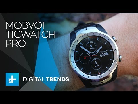 Mobvoi Ticwatch Pro - Hands On Review