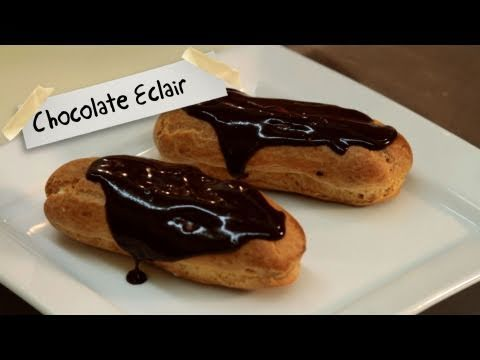 How to Make Chocolate Eclairs