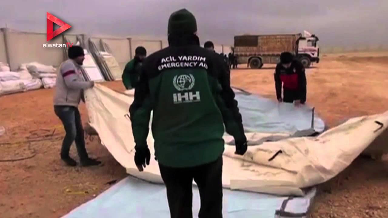 تركيا ترسل مساعدات إلى سوريا.. وقوات الأسد تكثف هجومها في حلب