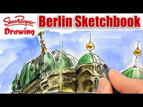 Look inside my Berlin Visit Sketchbook