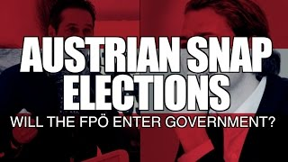Austrian Snap Elections: The FPÖ in Government?