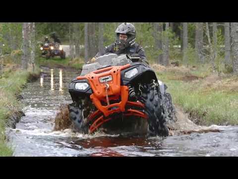 Super бонус в конце видео! BRP Renegade & Polaris Sportsman, Estonia 4я серия.