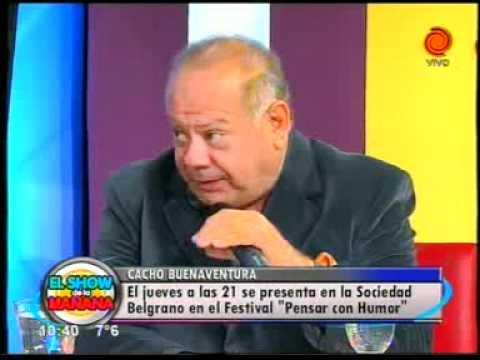 Cacho Buenaventura en El Show de la Ma ñana 05062012.3gp