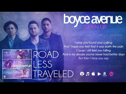 download lagu Boyce Avenue - Given Up   On Spotify & ITunes gratis