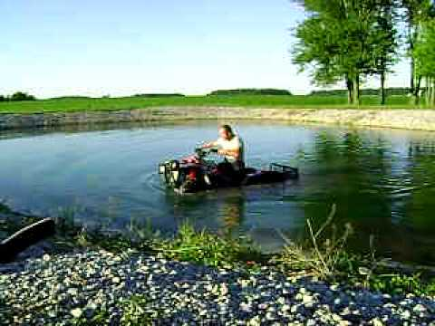 Worlds first Submersible Electric 4x4 ATV