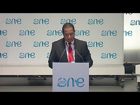 The One Young World Summit 2013 -- Opening Ceremony 2013: Part 1