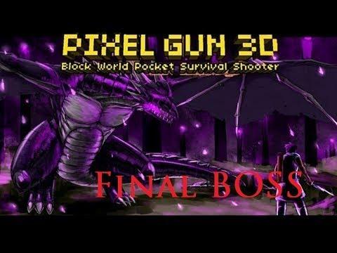 Pixel Gun 3D (Mindcraft Style) Final Boss