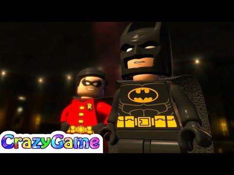 LEGO Batman 2 Episode 1 - Batman, Robin vs Joker, Harley Quinn, The Riddler, Two Face
