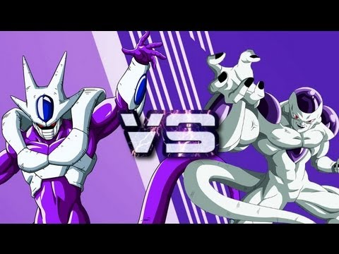 Cooler Final Form VS Frieza Full Power - YouTube
