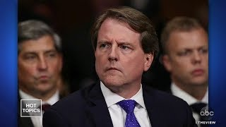 Will McGahn Be Held In Contempt? | The View