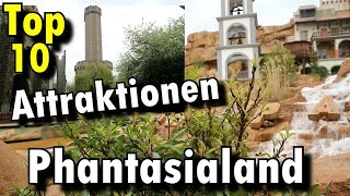 Top 10 Attraktionen im Phantasialand