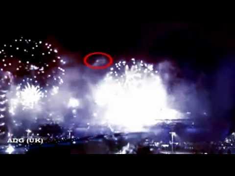 UFO Over London Olympics 2012 HQ