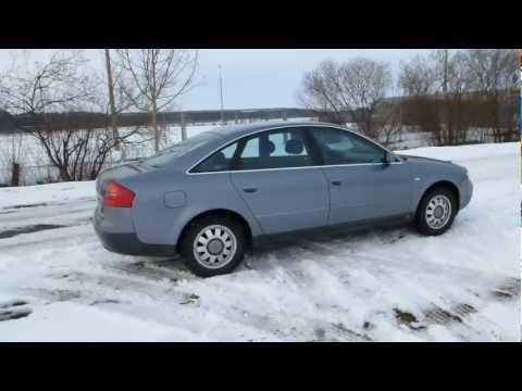 Audi A6 - 2.4 V6 165 HP Engine Car Test Drive Autobahn Video Acceleration Xenon Top Gear