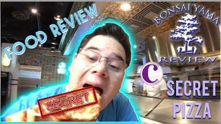 FOOD REVIEW SECRET PIZZA COSMOPOLITAN LAS VEGAS