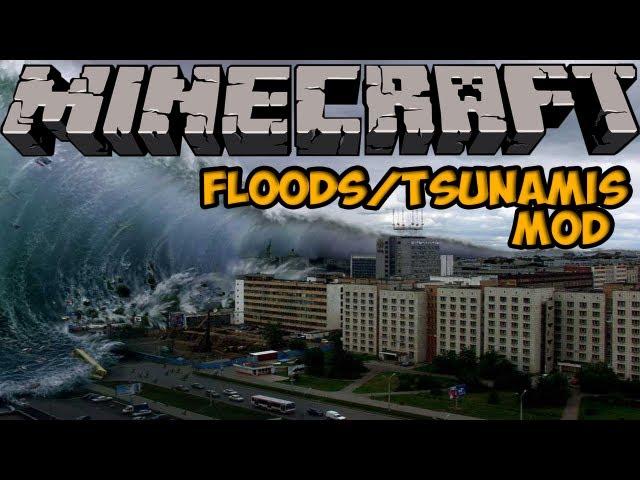 Minecraft Mods - APOCALYPTIC BUCKETS MOD! TSUNAMIS & FLOODS! [1.4.7]