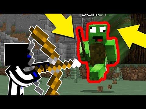КАК ЛЕГКО УВОРАЧИВАТЬСЯ ОТ СТРЕЛ? ВСЕ МИНИ-ИГРЫ МАЙНКРАФТА ЧЕЛЛЕНДЖ №12 Minecraft Bounty Hunter