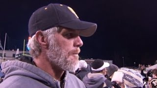 Brett Favre Coaches High School Football Team to Championship Game