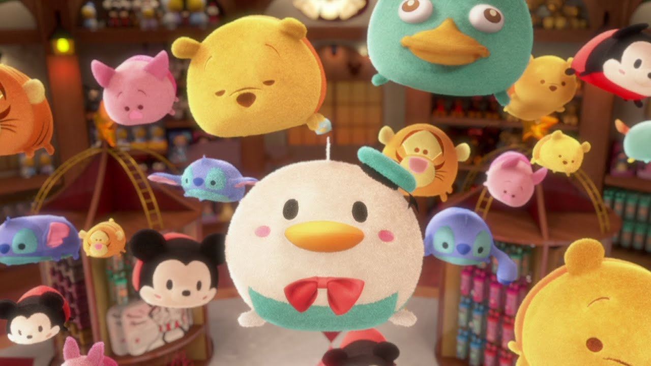 This is a photo of Punchy Disney Tsum Tsum Pictures