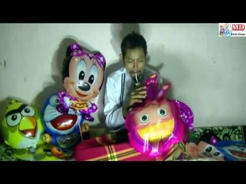 Persiapan Jajan  Kue Hari Raya Meniup Balon Karakter Untuk Anak-anak, Doraemon, Masya, OWL
