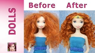 Disney Princess: Merida's Makeover Part 1 - Hair Repair
