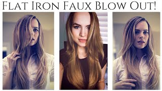 Faux Blowout for a Weekend Getaway