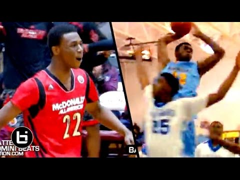 Andrew Wiggins Is KANSAS Bound! OFFICIAL Senior Year Mixtape!! The Next Great Superstar!?
