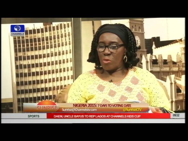 Obahiagbon Debates INEC's Readiness As Election Draws Near Pt 3