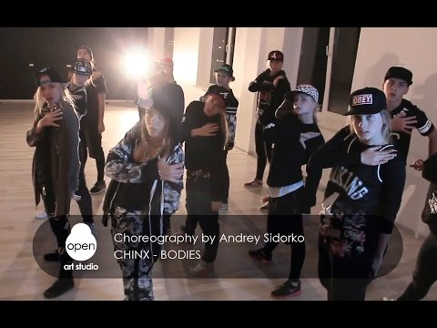 Chinx - Bodies - Hip-hop choreography by Andrey Sidorko - Open Art Studio