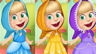 Masha And The Bear Real Princess (Маша и Медведь) Games For Kids