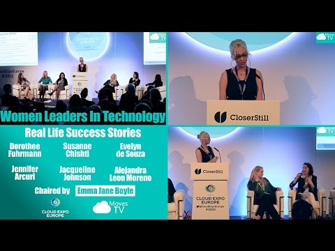 #CMTV Highlights Cloud Expo Europe - Women Leaders in Technology - Real Life Success Stories