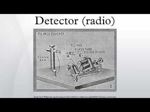 Detector (radio)