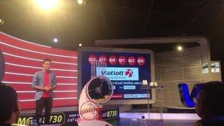 Video filming Vietlott lottery luck finding sequence to award 92 billion VND 🏆