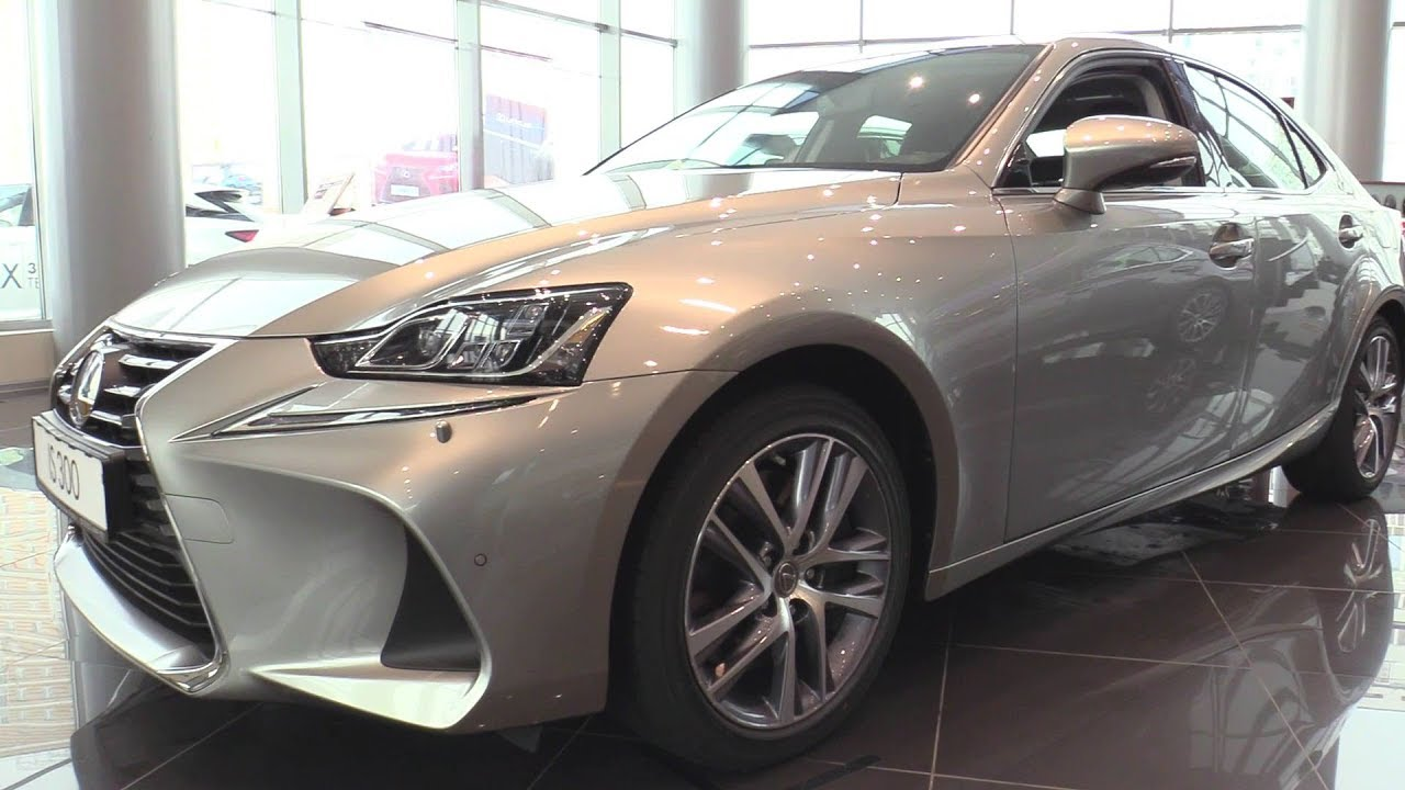 2018 Lexus IS300 2.0L (245HP) 8AR-FTS. Обзор (интерьер, экстерьер, двигатель).