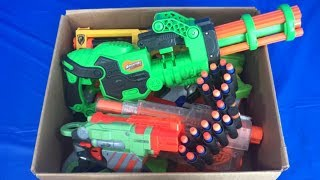 Box of Nerf Blasters Toy Weapons Toy Blasters for Kids Non Nerf
