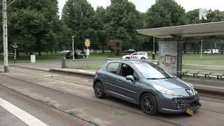 Schietpartij tussen automobilisten op Maasboulevard Rotterdam. Video: Duivestein