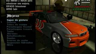GTA San Andreas - Tuning Cars Mod (part 1)