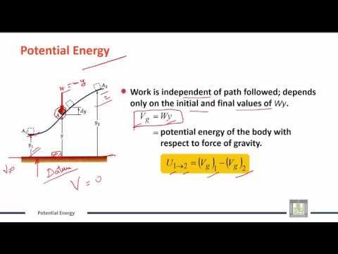 Engineering Mechanics | C10-L5 | Conservation of Energy