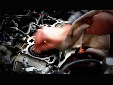 Head Gasket Repair. Install. Replacement on a Honda Civic..How to repair a blown head gasket!
