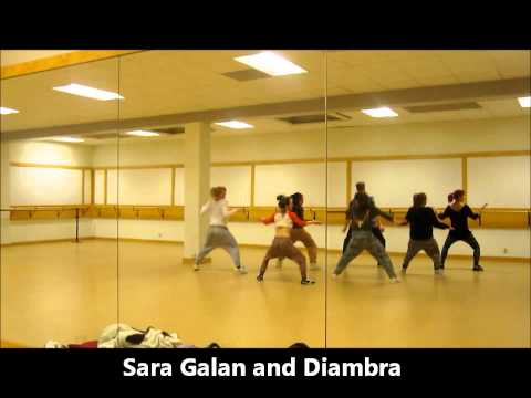 Mr Vegas Bruk It Down - Sara Galan Choreo video