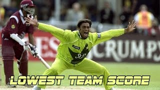 Lowest Team Scores in Cricket History Ever || Compilation ◄ MUST WATCH
