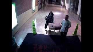 Couple Steal Lounge Chair From Mall Concourse