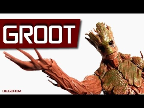 Marvel Legends GROOT Guardians of the Galaxy Review / DiegoHDM